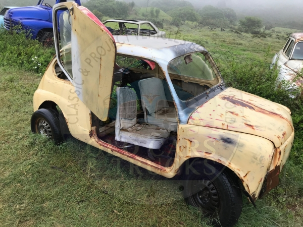 Fiat 600 Project shell