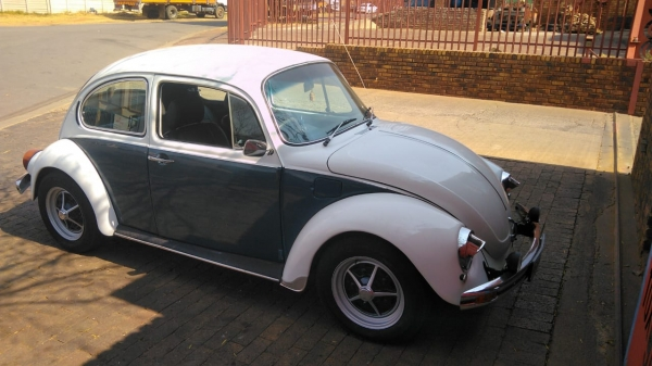 Fully Restored 1600S Beetle